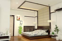 modern Bedroom by BN Architects