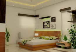Bedroom: modern Bedroom by BN Architects