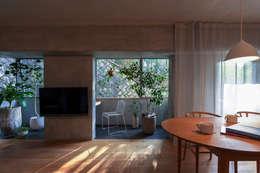 modern Living room by Nobuyoshi Hayashi