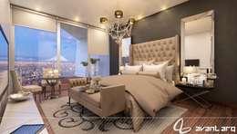 Projekty,  Sypialnia zaprojektowane przez AVANT ARQ