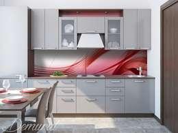 Cucina in stile in stile Moderno di Demural.pl