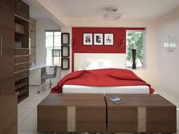 غرفة نوم تنفيذ AVANT ARQ