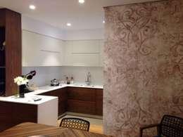 Projekty,  Kuchnia zaprojektowane przez Domenico Lupariello Architetto