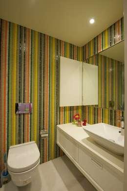 AA Apartment: modern Bathroom by Atelier Design N Domain