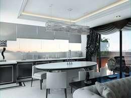 VERO CONCEPT MİMARLIK – Zahide Yetiş Konut: modern tarz Mutfak