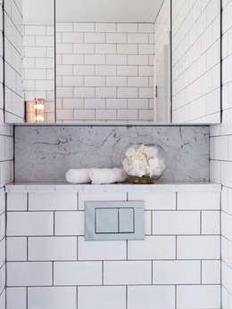 eclectic Bathroom by Studio Duggan