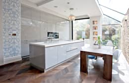 Richmond Full House Refurbishment: minimalistic Kitchen by A1 Lofts and Extensions