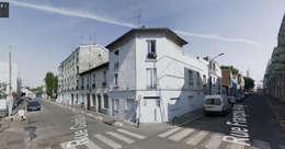 L'immeuble à l'origine:  de style  par AADD+
