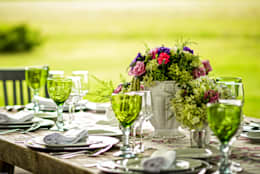 Moor Mobiliario: Jardín de estilo  por MOOR Event Rentals & Planning