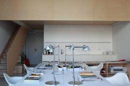 davide petronici | architettura: endüstriyel tarz tarz Çalışma Odası