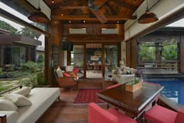modern Living room by monica khanna designs