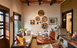 The Delhi Design Store: modern Study/office by monica khanna designs