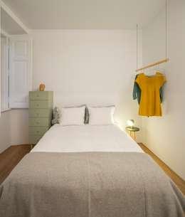 Projekty,  Sypialnia zaprojektowane przez fala