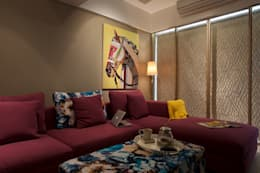 NG Apartment : modern Living room by Atelier Design N Domain