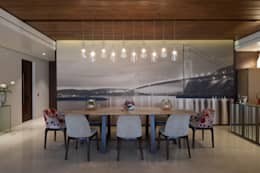 NG Apartment : modern Dining room by Atelier Design N Domain