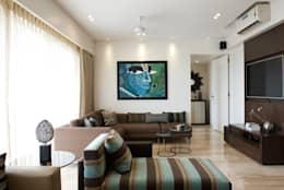 AS Apartment : modern Media room by Atelier Design N Domain