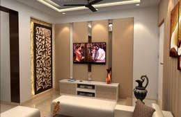 de estilo  por FYD Interiors Pvt. Ltd