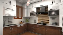 de estilo  por FYD Interiors Pvt. Ltd