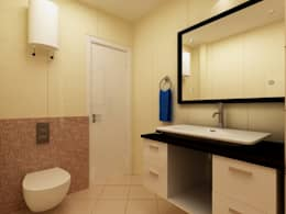 modern Bathroom by Indeera Builders Private Limited