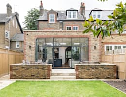 Modern Flat Roof Extension. Full Renovation On Trinity Road, London: Modern  Houses By Grand Design London Ltd