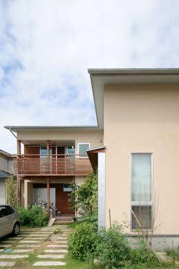 飾らない家/フレキシブルな空間: 加藤淳一級建築士事務所が手掛けた家です。