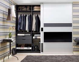 Projekty,  Garderoba zaprojektowane przez Elfa Deutschland GmbH
