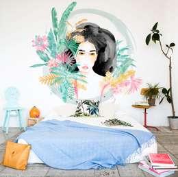 Bloompapers의  벽 & 바닥