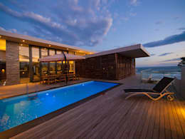 Piscinas de estilo moderno por van ringen architecten