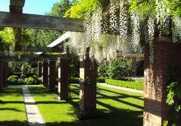 De mooiste inspiratie voor een bruiloft in de open lucht - Bedekte pergola ...