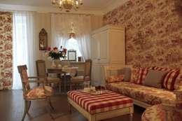 Деревенская спальня: Спальни в . Автор – СТУДИЯ ЮЛИИ НЕСТЕРОВОЙ