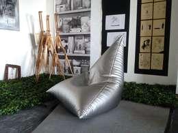 Кресло мешок Авиатор #69: Гостиная в . Автор – Мешок в Дом