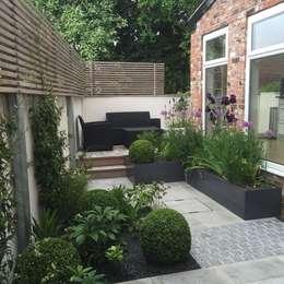 Bowden House: minimalistic Garden by Aralia