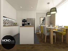 Cocinas de estilo moderno por MONOstudio