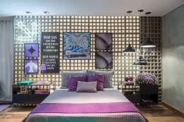 Carpaneda & Nasr: modern tarz Yatak Odası