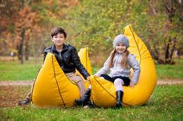 Детское кресло мешок Банан #15: Детская комната в . Автор – Мешок в Дом