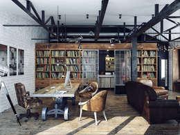 Офис на Мясницкой: Офисные помещения в . Автор – Хороший план