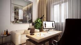minimalistische Studeerkamer/kantoor door Art-i-Chok