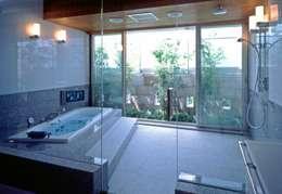 Phòng tắm by AMO設計事務所