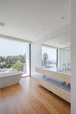 modern Bathroom by JPS Atelier - Arquitectura, Design e Engenharia