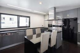 modern Kitchen by JPS Atelier - Arquitectura, Design e Engenharia