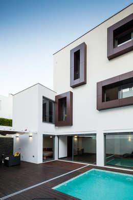 moderne Huizen door JPS Atelier - Arquitectura, Design e Engenharia