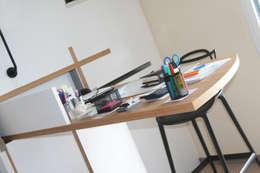 Appartement La Rochelle: Bureau de style de style Moderne par Atelier Nadège Nari