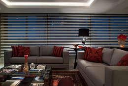 Angela Ognibeni Arquitetura e Interiores: modern tarz Oturma Odası