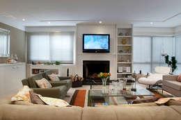modern Living room by Angela Ognibeni Arquitetura e Interiores