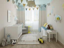 scandinavische Kinderkamer door Olesya Parkhomenko
