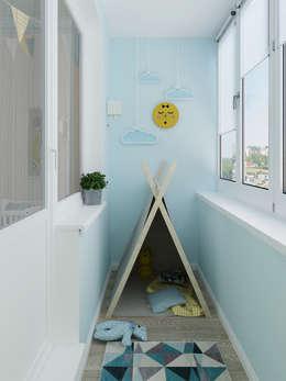 Детский балкон: Tерраса в . Автор – Olesya Parkhomenko