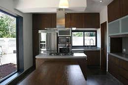 مطبخ تنفيذ Narda Davila arquitectura