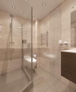 minimalistic Bathroom by Студия дизайна Виктории Силаевой
