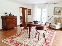 country Living room by ARQAMA - Arquitetura e Design Lda