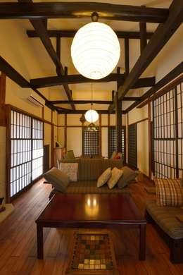 Salas de estilo asiático por ISO設計室